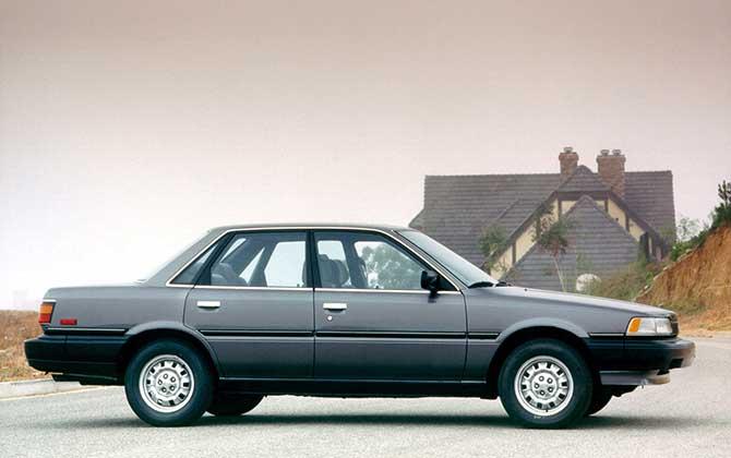Камри V20 1986 c 3S-FE