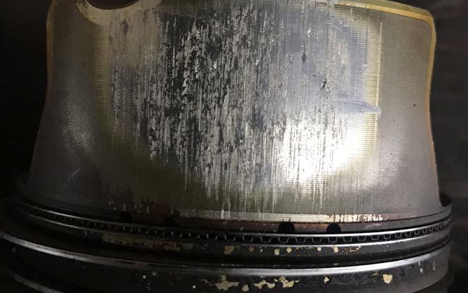 Разрушение поверхности стенок цилиндров