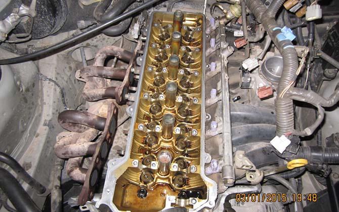 Технические характеристики двигателя Toyota 1G-FE