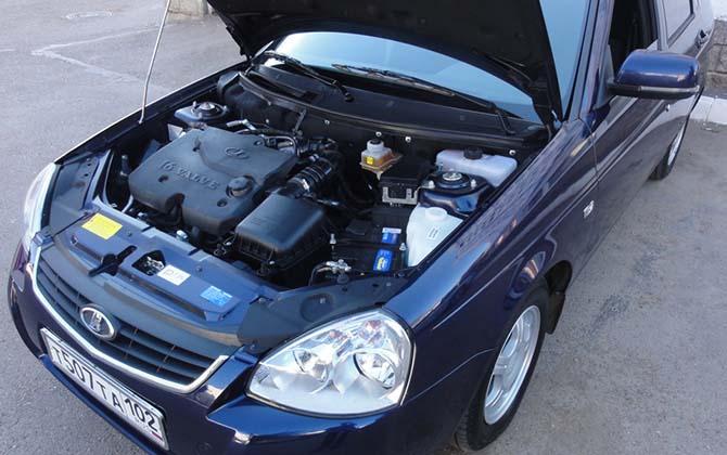 Двигатель ВАЗ 21126, технические характеристики мотора