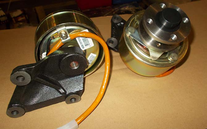 электромагнитная муфта вентилятора