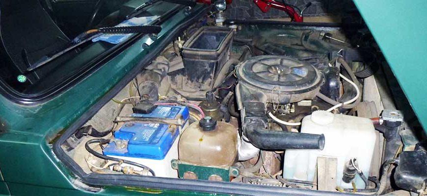 Технические характеристики двигателя ВАЗ 21213