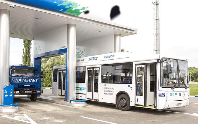 Автобусы на газе