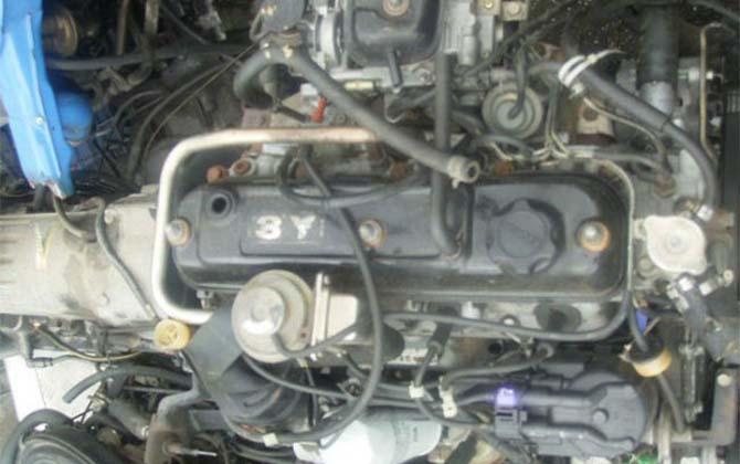 Двигатель 3У Toyota