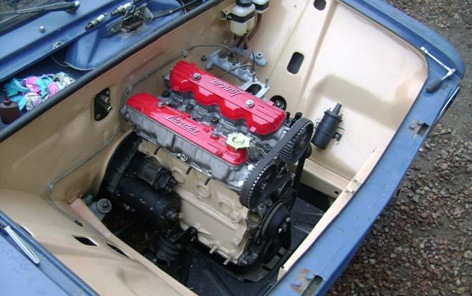 Иномарочный двигатель