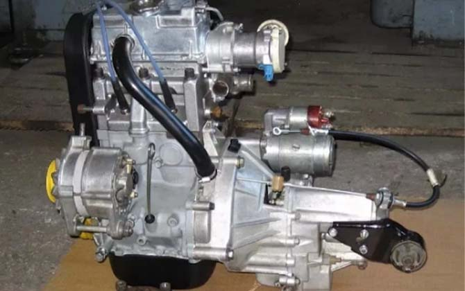 Двигатель Ока
