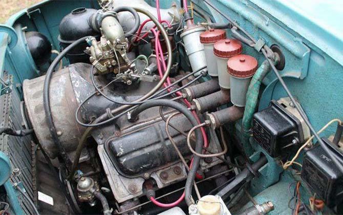 ЛУАЗ двигатель